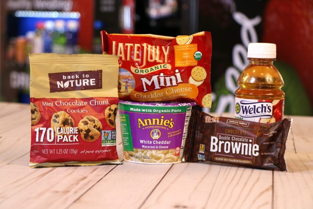 HealthyYOU Vending machine snacks for kids