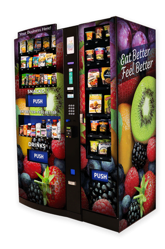 healthy vending machine snacks
