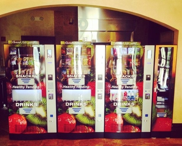 HealthyYOU Vending Machines