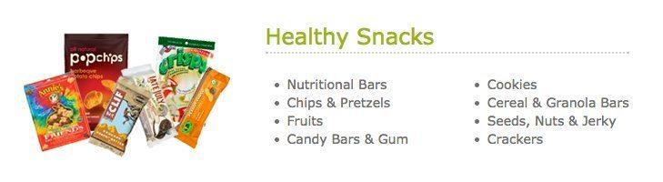 HealthyYOU Vending Snacks